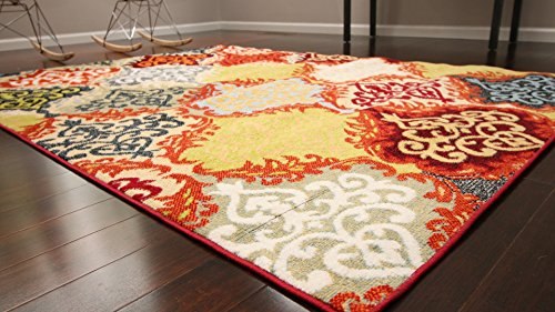 Radiance Art Pattern Collection Contemporary Modern Red