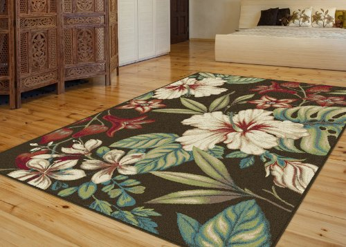 Universal Rugs 1013 Capri Transitional Area Rug 5 Feet 3