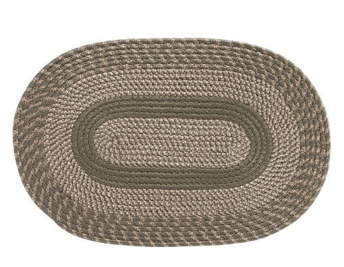 braided area rug