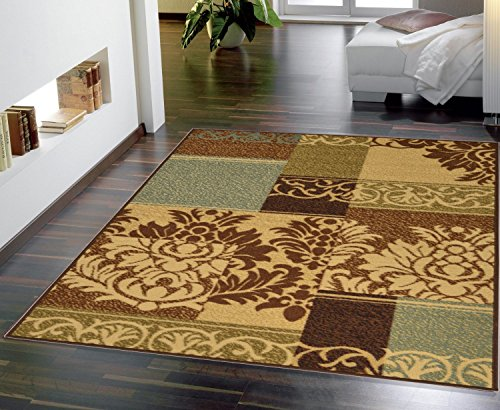 10 Round Low Pile Rug