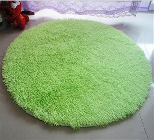 Szxxc Shag Smooth Flexible Carpet Solid Home Decorator