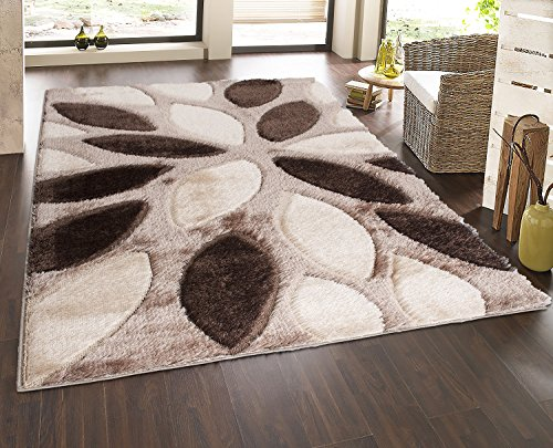 Casa Regina Gy Collection Beige Contemporary Abstract Design 7 10 X9 Area Rug