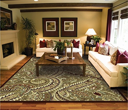 Large 8×11 Contemporary Art Rug Living Room Size Area Rugs 8×10 Clearance  Under 100 Bed Room Rugs Office Rugs Tree Leaf Desing Carpet