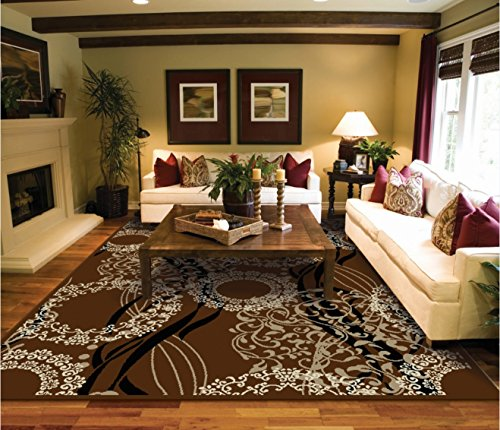 Luxtury Large 8 215 11 Rugs For Living Room Brown Beige Black