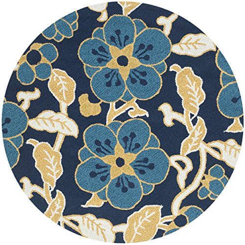 safavieh four seasons collection frsa handhooked navy and, Rug/