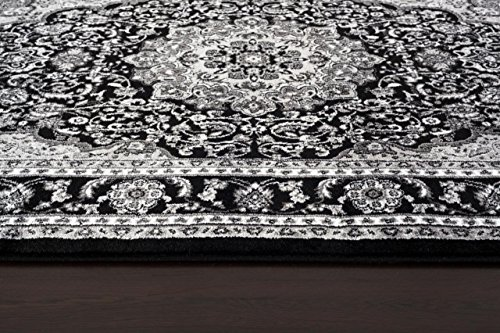 1000 Gray Black White 7 10 2 Area Rug Modern Carpet Large New