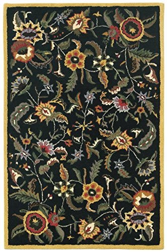 Paradise 4 215 6 Black Gold Wool Rug Area Rugs Shop