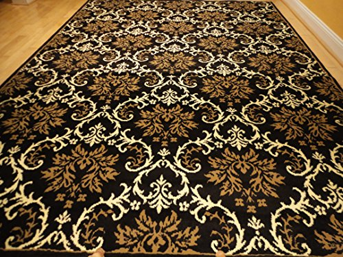 Lovely Modern Rug Luxury Black Hallway Runner 2×8 Rugs Contemporary Rugs Entrance  Rugs Kitchen 2×7 Runners Black Runner Rugs (2u0027x8u2032 Hallway Runner)