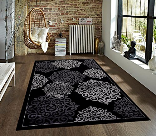 776 Black Gray Grey 5 2 215 7 2 Area Rugs Carpet Area Rugs Shop