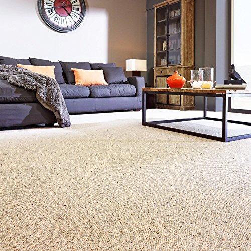 Room accent area rug collection biscuit beige with fleck for 10 feet by 10 feet room