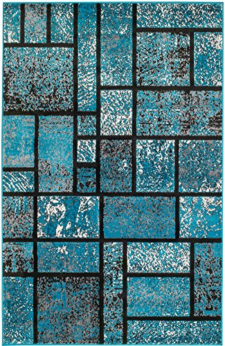 Summit 41 New Turquoise Geometric Area Rug Modern Abstract