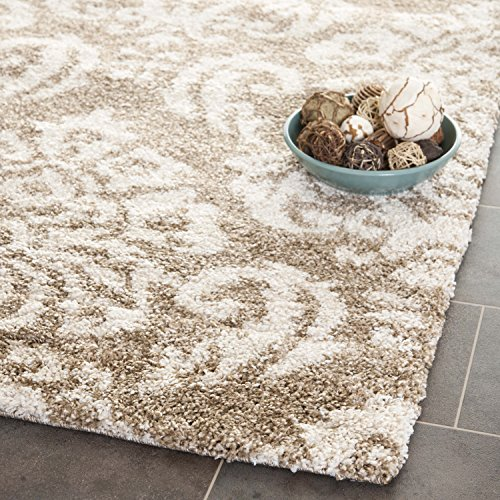 Safavieh Florida Shag Collection Sg460 1311 Beige And