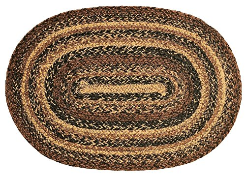 Ihf Home Decor Area Accent Floor Carpet Oval Braided Rug