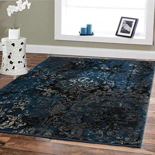 Large Premium Soft Luxury Rugs For Living Rooms 8 215 11 Navy