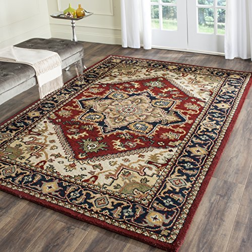 Safavieh Heritage Collection Hg625a Handmade Traditional