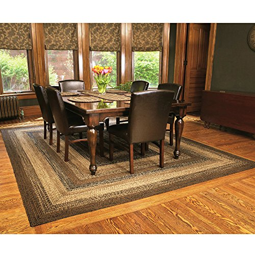 Ihf Home Decor Rectangle Braided Area Rug 22 X 72 New