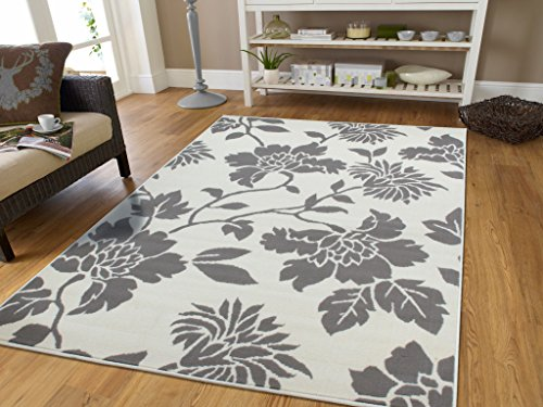 Contemporary Leaves Design Modern Area Rug 5 215 8 Leaf
