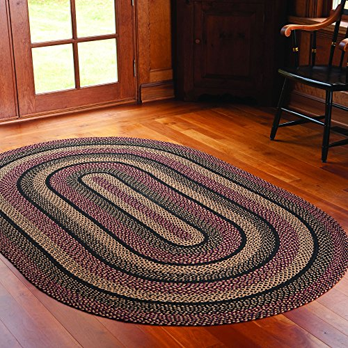 Ihf Home Decor Primitive Country Style Oval Area Floor