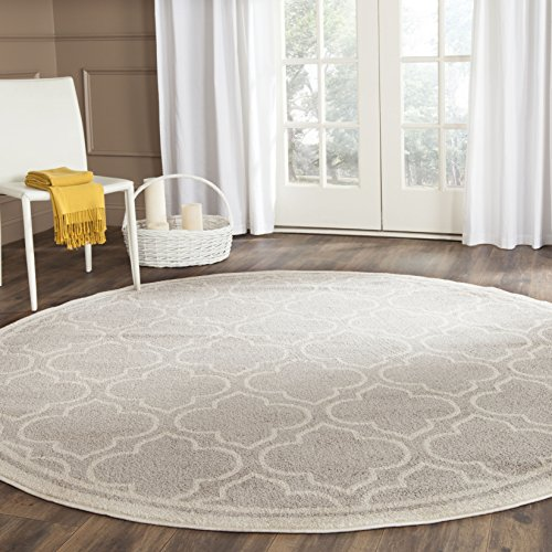 Safavieh Amherst Collection Amt412b Light Grey And Ivory