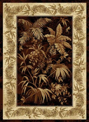 tropical area rug