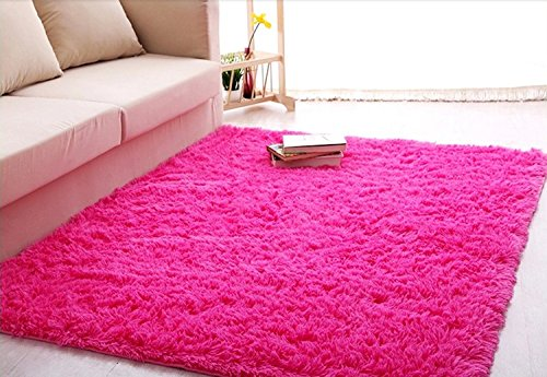 igirls shaggy daughter 39 s room ultra soft area rugs living room carpet bedroom rug princess girls. Black Bedroom Furniture Sets. Home Design Ideas