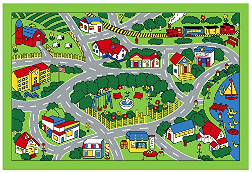 City Map Children Area Rug 39 X58 Area Rugs Shop