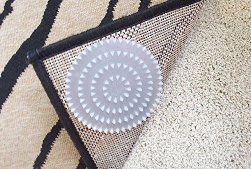 Non Slip Rug Pads For Rugs On Carpet 4 Pack Designed For