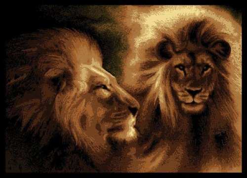 United Weavers Legends Area Rug 910 02250 Lion Profile