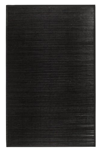 Bamboo Black 5 X8 Area Rug Area Rugs Shop