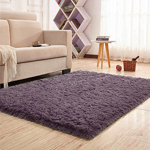 Noahas Super Soft 4 5cm Thick Modern Shag Area Rugs Fluffy
