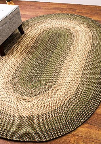 Super Area Rugs Hartford Braided Indoor Outdoor Rug