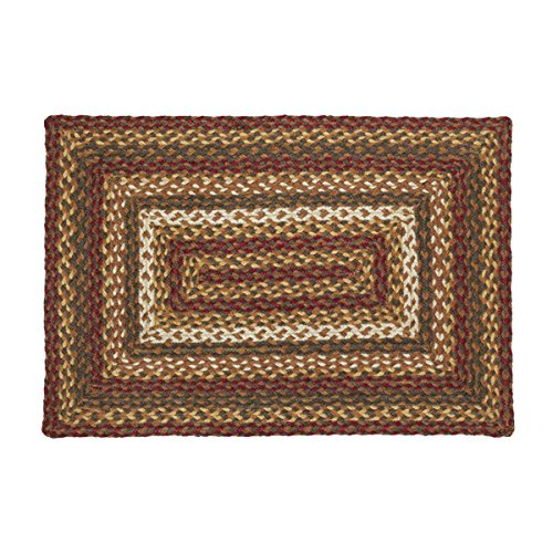 Vhc Brands Rustic Amp Lodge Flooring Tea Cabin Green Jute