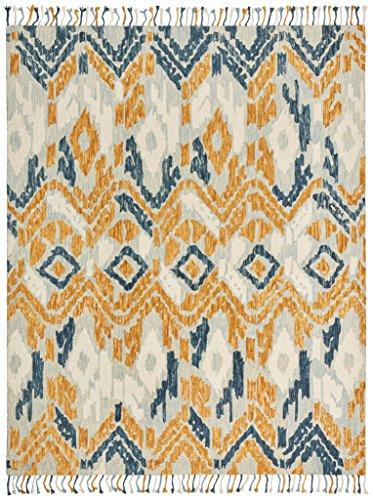 Stone Amp Beam Modern Global Ikat Wool Area Rug 8 X 10