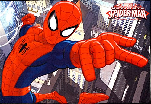 Marvel Spiderman Rug Hd Digital Kids Bedding Wall Decals