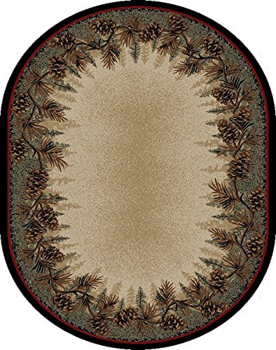 Rug Empire 3823 Rustic Lodge Mount Le Conte Area Rug 5 3